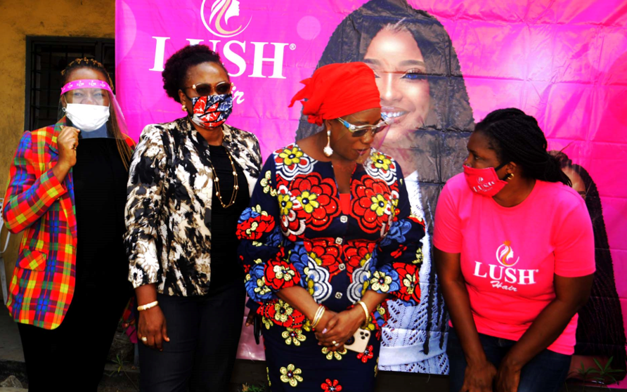 Lush Hair Participates in Lagos State LCDAs Women Assembly Program lindaikejisblog5