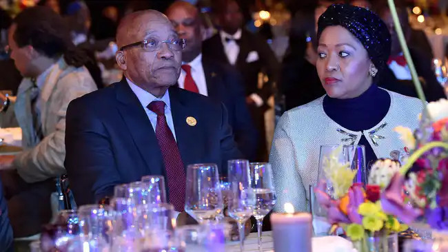 Former South African President, Jacob Zuma sued by third wife over maintenance money lindaikejisblog 2