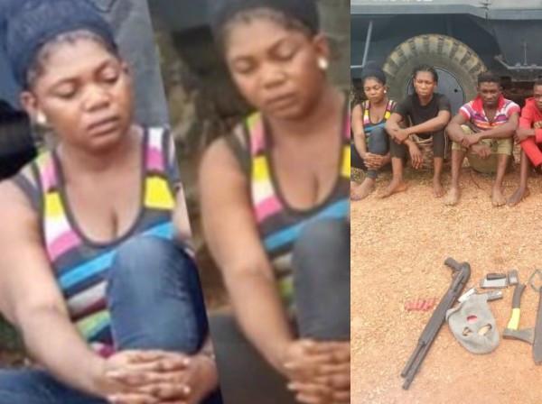 Ekiti lady arrested after faking her kidnap to extort parents lindaikejisblog