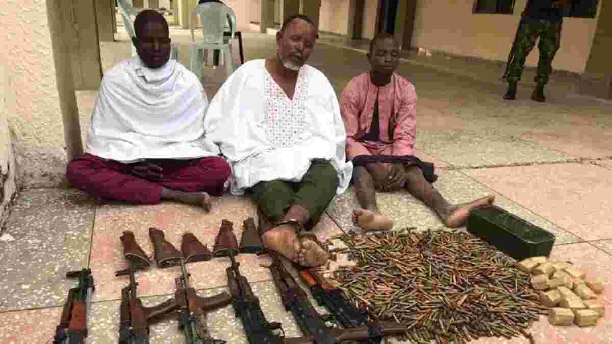 3 foreign arms syndicate supplying weapons to bandits nabbed lindaikejisblog
