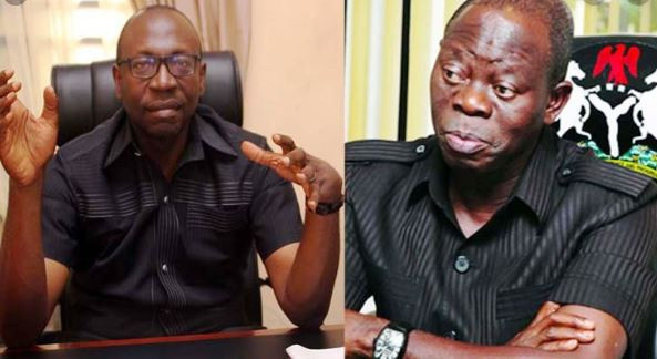Oshiomhole works for me, he is not my godfather - Ize-Iyamu lindaikejisblog