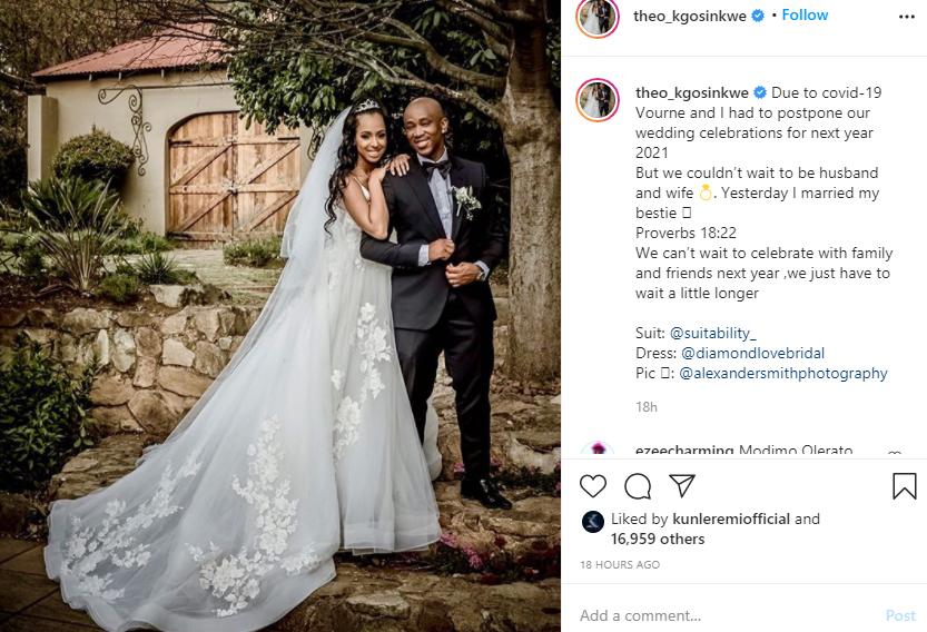 Mafikizolos Theo marries girlfriend 20 years his junior lindaikejisblog 1