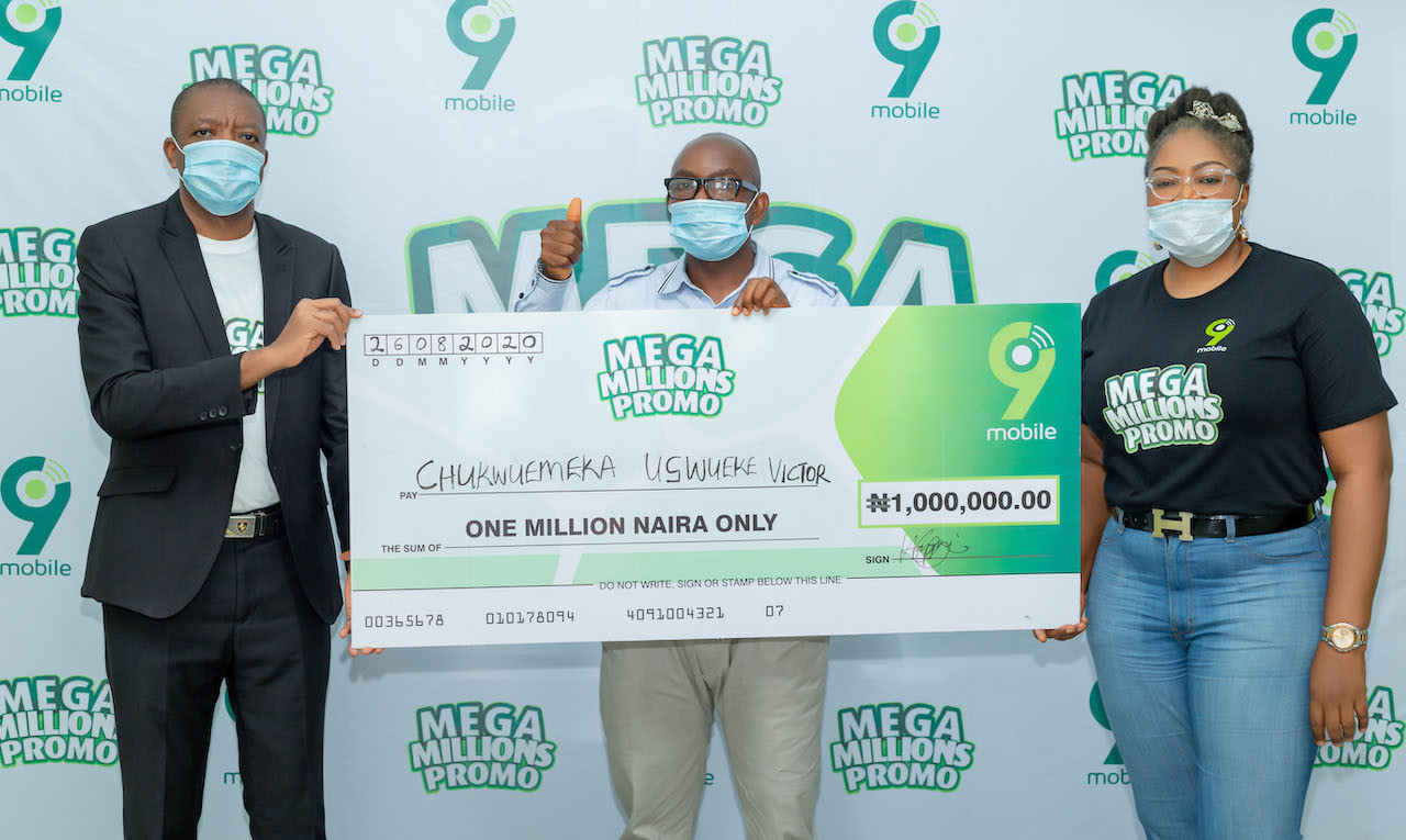 9mobile Mega Millions Promo Enugu winner to start a masters degree with prize money lindaikejisblog