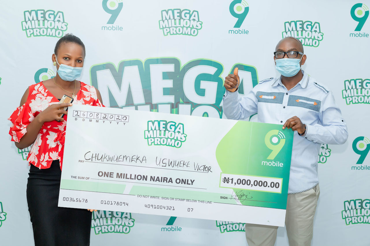 9mobile Mega Millions Promo Enugu winner to start a masters degree with prize money lindaikejisblog1