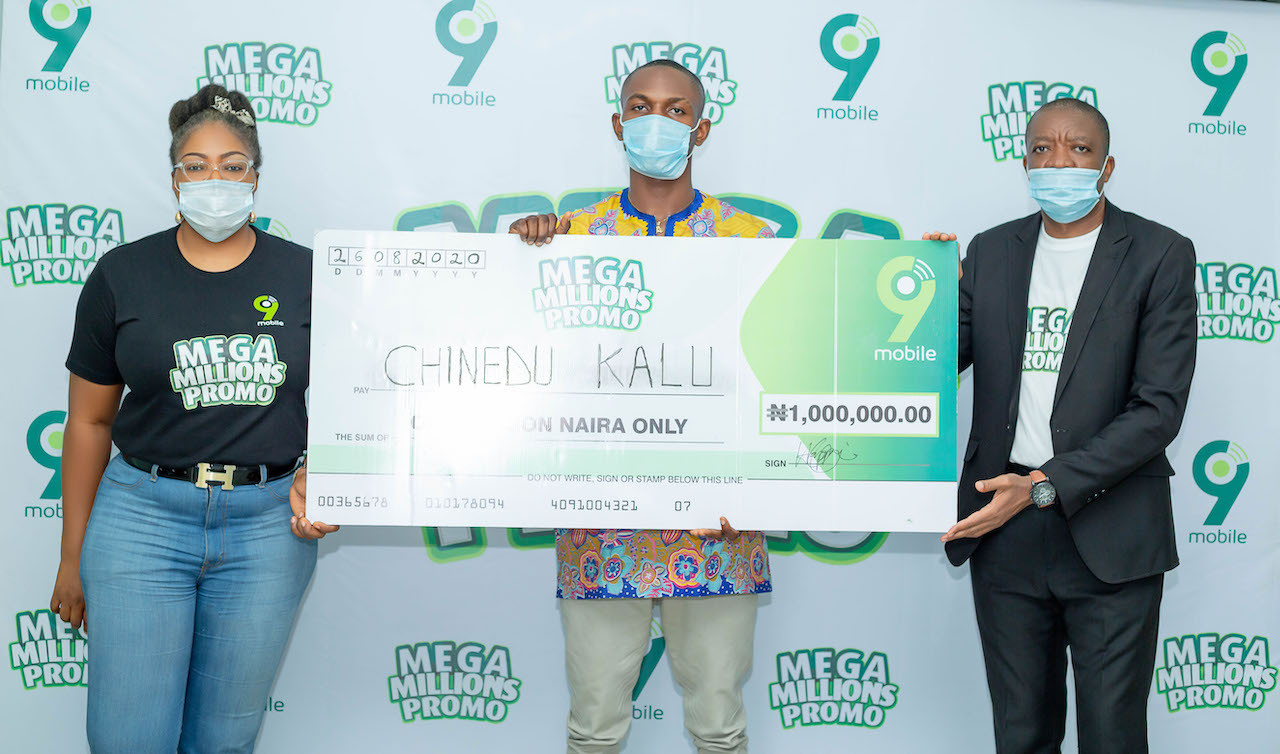 9mobile Mega Millions Promo Enugu winner to start a masters degree with prize money lindaikejisblog4