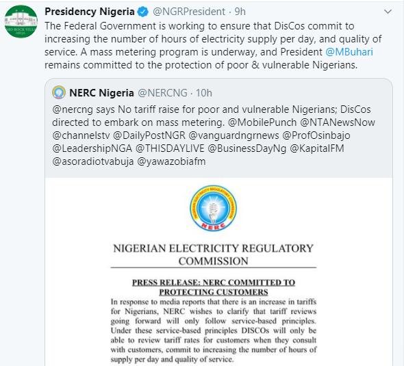 President Buhari ends estimated billing, directs nationwide mass metering lindaikejisblog 1