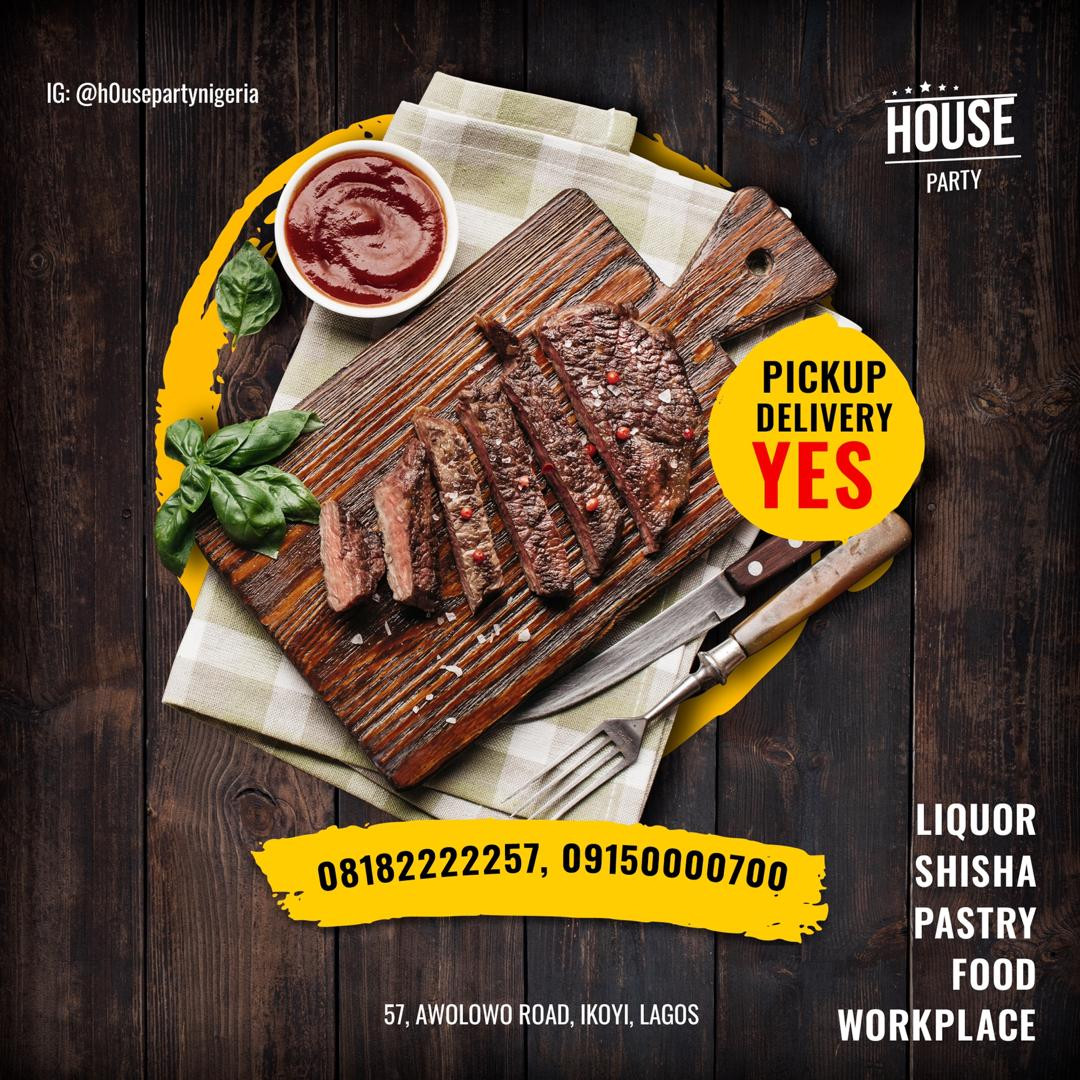 Houseparty Debuts in Nigeria... Get Food & Drinks at Y our Doorstep 24/7