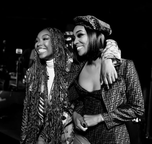 Communication and Compassion bridged a gap that not many will understand - Monica says in heartfelt message to Brandy after Verzuz battle lindaikejisblog