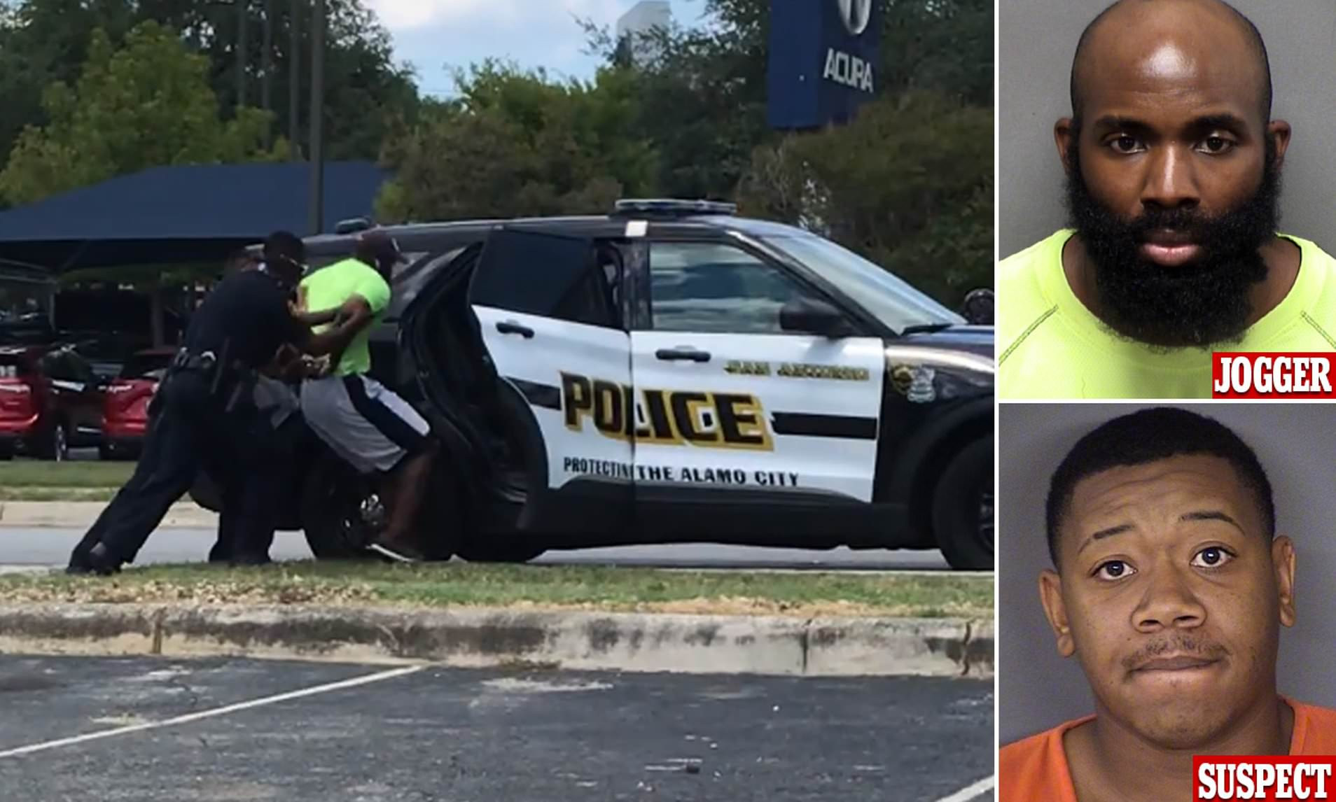 Nigerian-American man, Mathias Ometu who was arrested for 'jogging while black' speaks out after encounter with San Antonio police lindaikejisblog 2