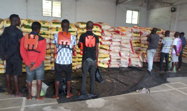Navy arrests 8 suspected foreign rice smugglers lindaikejisblog