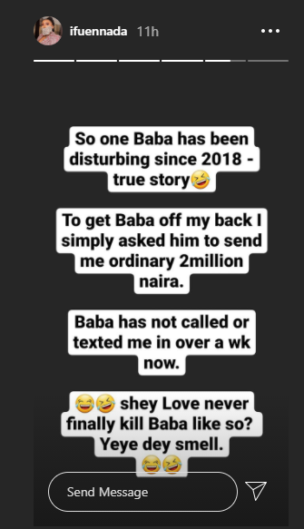 I asked him to send me ordinary N2 million and he is yet to call or text back - Ifu Ennada narrates how she got a man off her back lindaikejisblog 1