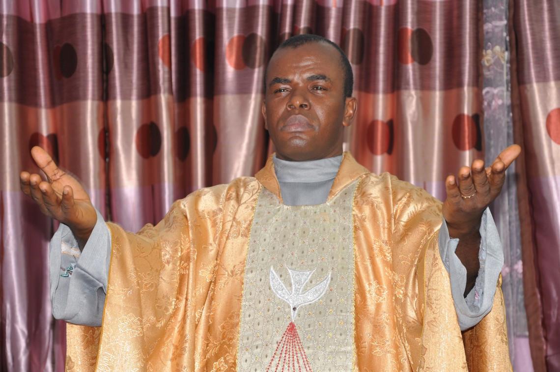 Father Mbaka talks about a female #BBNaija house
