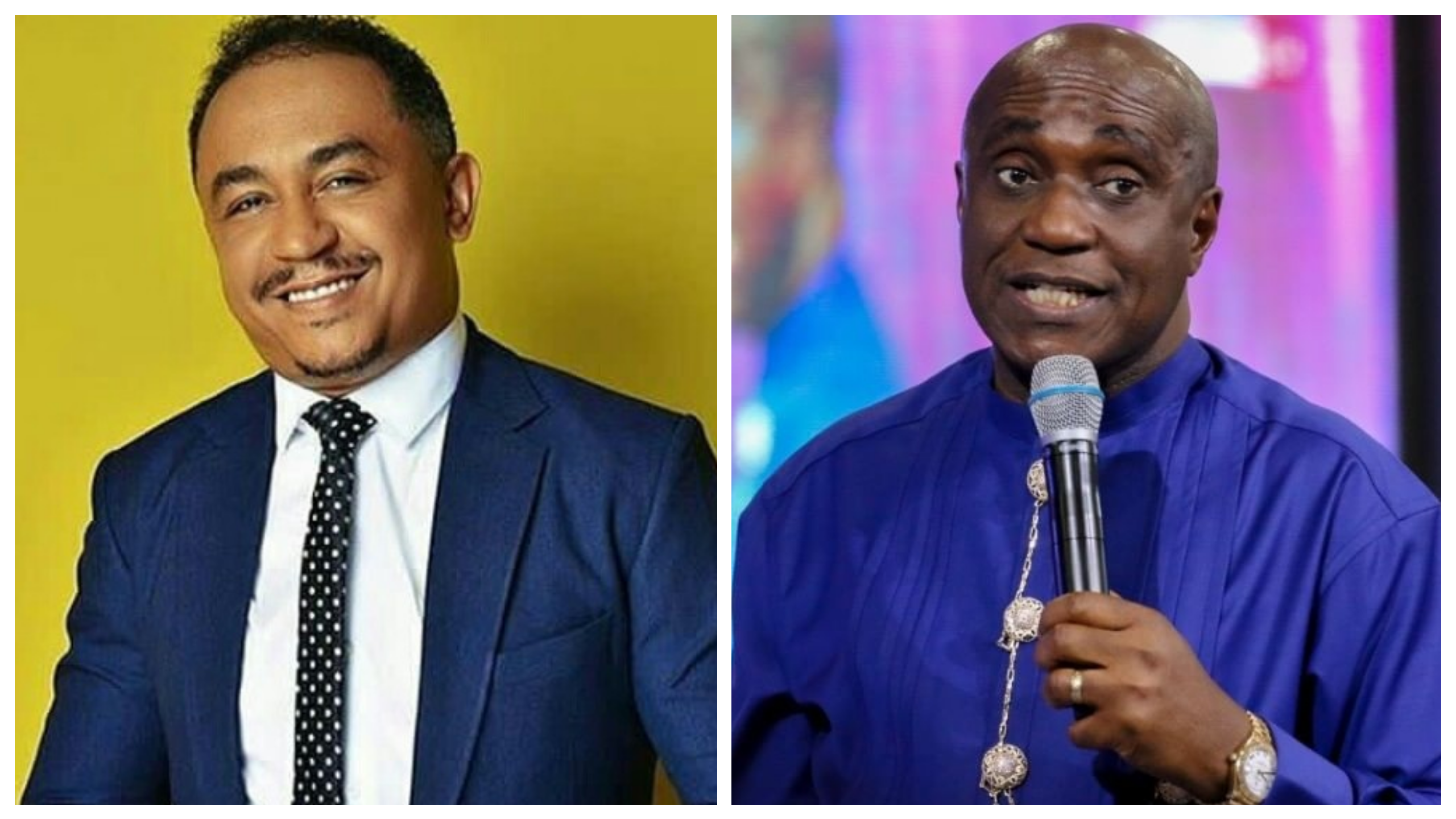 """""""I curse the day he was born"""" Pastor Ibiyeomie attacks DaddyFreeze for always 'insulting' Bishop Oyedepo"""