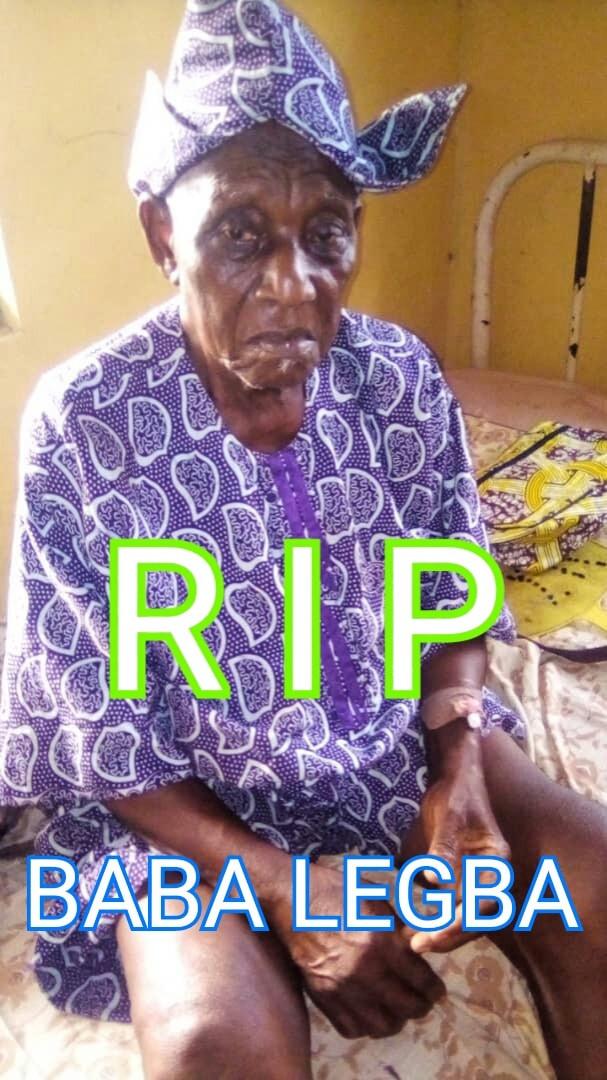 Veteran actor, Yekini Oyedele 'Baba Legba' is dead lindaikejisblog