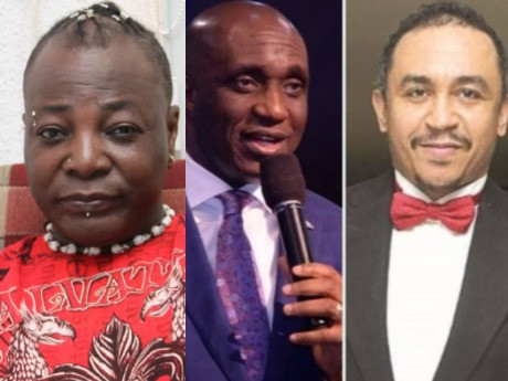 'If you decide to make Daddy Freeze a topic I will make you my assignment. - Charly Boy slams Pastor Ibiyeomie over comment against Daddy Freeze