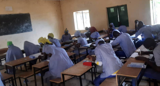 WAEC conducts exams in Chibok 6 years after abduction of schoolgirls lindaikejisblog 1
