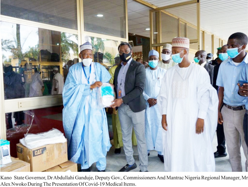 COVID-19: NCDC & States applaud Mantrac Nigeria for donating Medical equipment, Test kits and PPEs lindaikejisblog1