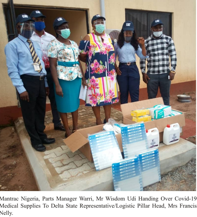 COVID-19: NCDC & States applaud Mantrac Nigeria for donating Medical equipment, Test kits and PPEs lindaikejisblog4