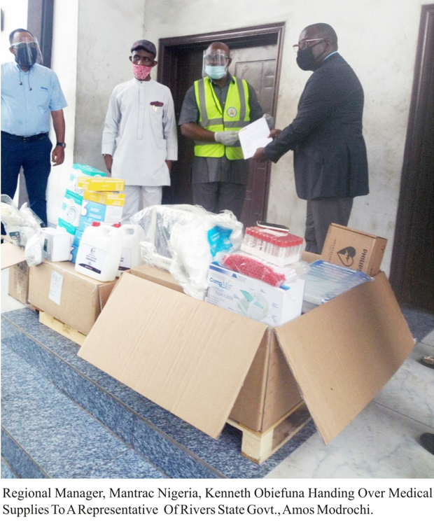 COVID-19: NCDC & States applaud Mantrac Nigeria for donating Medical equipment, Test kits and PPEs lindaikejisblog3