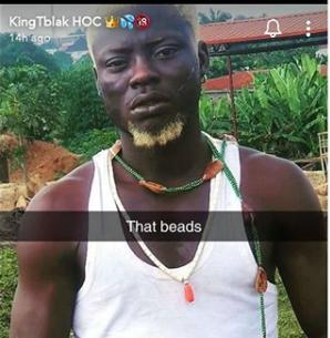 Nigerian pornstar, Kingtblakhoc arrested for using Ifa worshippers item to shoot a porn movie lindaikejisblog
