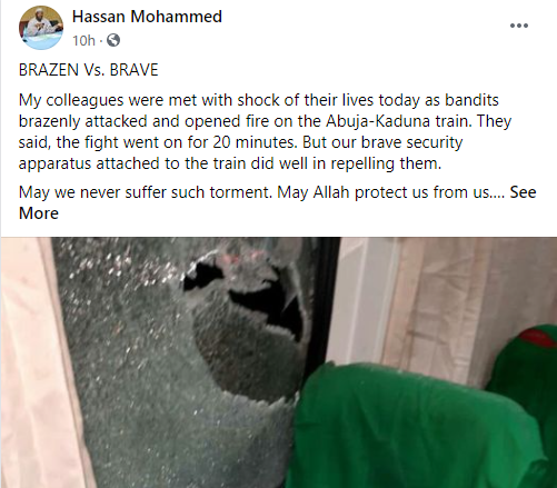 Abuja-Kaduna train allegedly attacked by bandits lindaikejisblog 1
