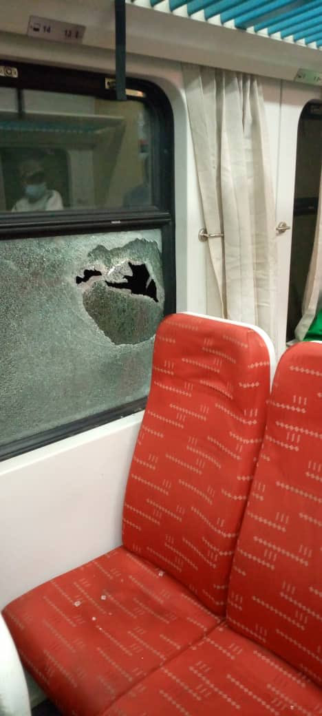Abuja-Kaduna train allegedly attacked by bandits lindaikejisblog