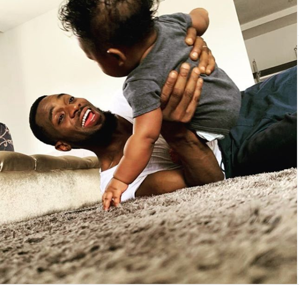Dbanj celebrates his son on his 1st birthday