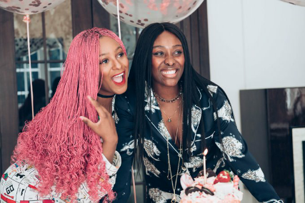 DJ Cuppy reveals that she and her sister, Tolani are single lindaikejisblog