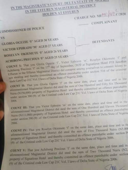 Ex-Nigerian Minister arrests hotel staff, strip them naked for allegedly stealing N5,000 lindaikejisblog 2
