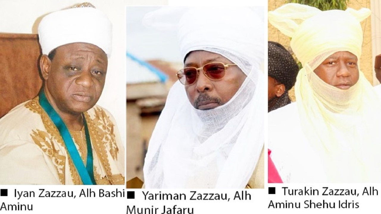 Kaduna government confirms receiving names of nominees for Emir of Zazzau position lindaikejisblog