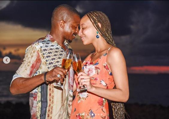 Media personality, Laila Johnson-Salami engaged to boyfriend Abasam lindaikejisblog 6
