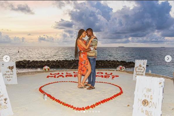 Media personality, Laila Johnson-Salami engaged to boyfriend Abasam lindaikejisblog 4