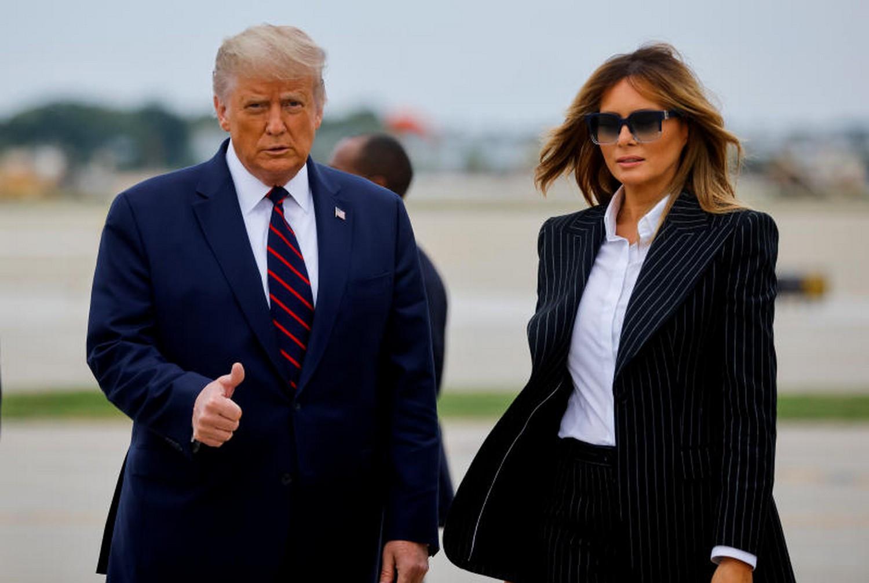 President Trump and Melania test positive for Coronavirus lindaikejisblog