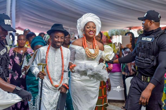 Rapper Erigga and fiancee, Morenike hold their traditional marriage in Delta state lindaikejisblog 2