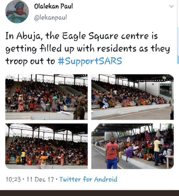 Former SARS supporter called out after crying out for help after being arrested by the police lindaikejisblog 6