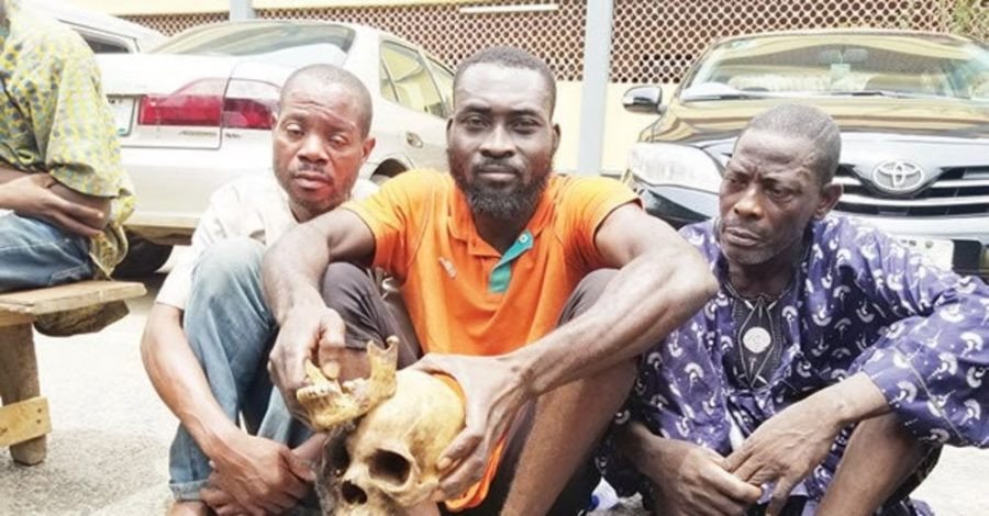 Three men arrested and arraigned for exhuming 10 corpses and beheading them for ritual lindaikejisblog
