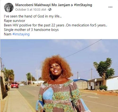 Lady celebrates living with HIV for 22 years lindaikejisblog 1