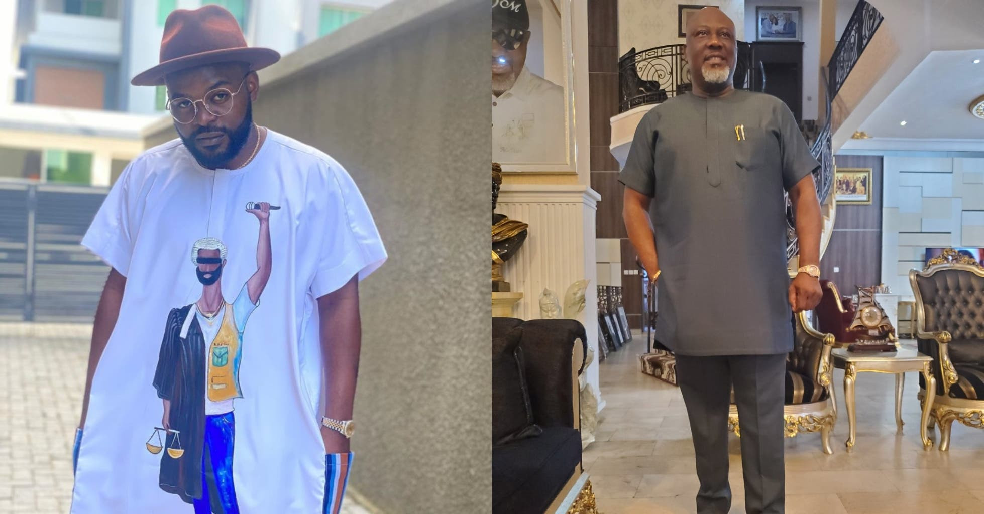 'We go soon face una matter' - Falz slams Dino Melaye over solidarity with #EndSARS protesters lindaikejisblog
