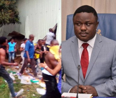Gov Ayade orders house to house search of looted items in Cross River state