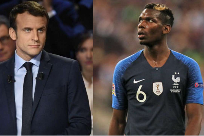 """Manchester United star, Paul Pogba """"quits"""" France's Football team over President Macron's comments on 'Islamist terrorism'"""