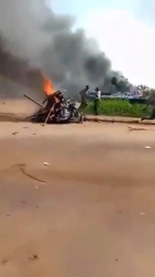 Suspected IPOB members burn down Ebonyi Central Police Station lindaikejisblog