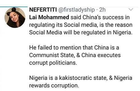 Nigerians react to Lai Mohammed's call for regulation of social media lindaikejisblog 1