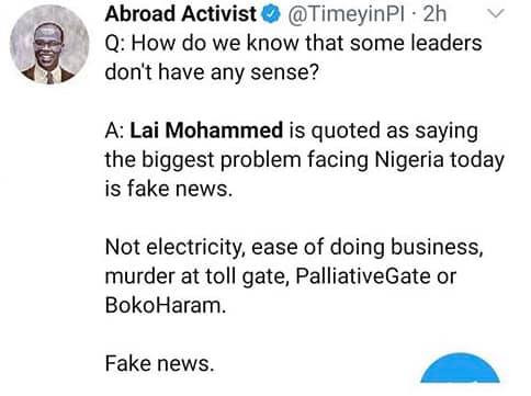 Nigerians react to Lai Mohammed's call for regulation of social media lindaikejisblog 2