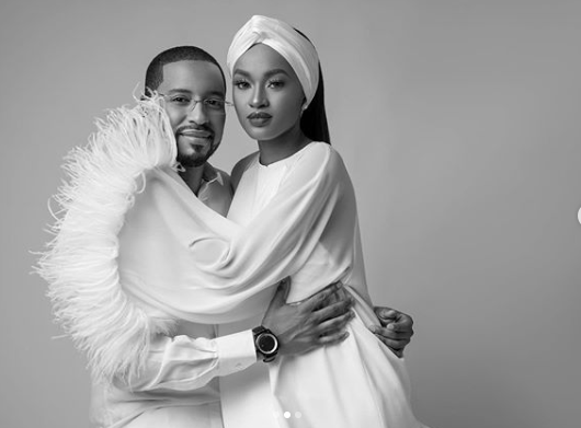 Hanan Buhari shares loved up photos with her husband, Turad lindaikejisblog 2