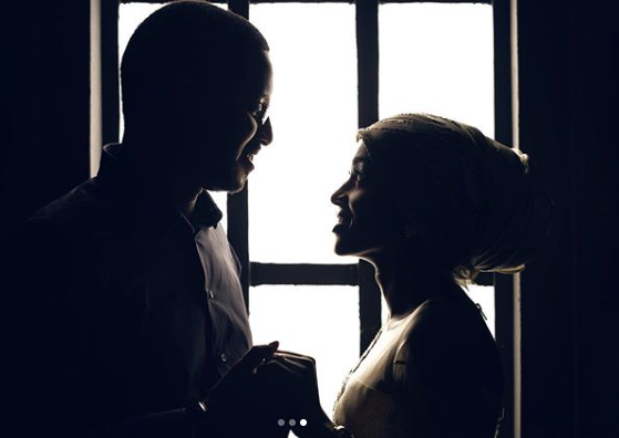Hanan Buhari shares loved up photos with her husband, Turad lindaikejisblog