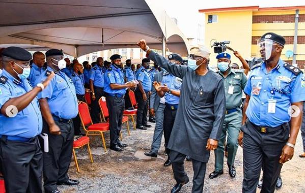 Governor Sanwo-Olu offers scholarship to children of policemen who died in Lagos violence lindaikejisblog