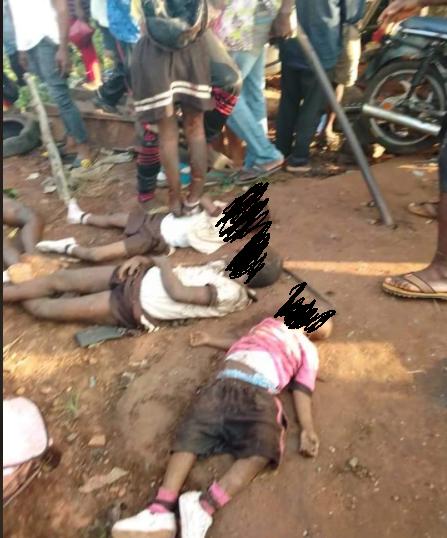 Many pupils feared dead as truck knocks school bus into a ditch in Enugu lindaikejisblog 2