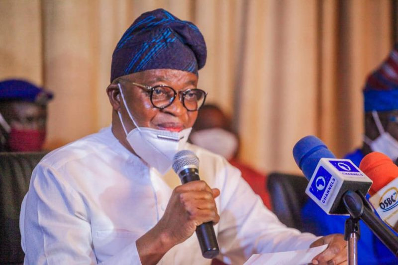 Governor Oyetola relaxes 24-hour curfew in Osun state lindaikejisblog