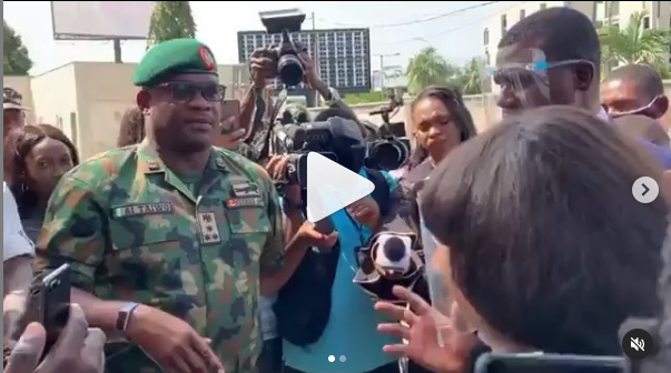 Lekki shootings: Military morgue is undergoing renovation – Officials (videos )