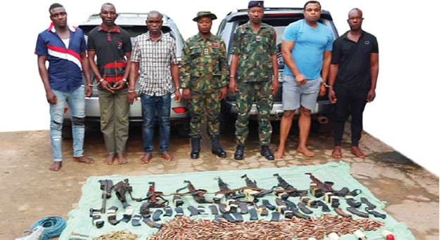 Our leader coordinated operations from prison Former soldiers and others arrested for Ebonyi bullion van robbery attack confess lindaikejisblog